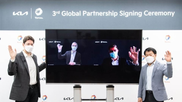 Kia and Total extend global partnership to expand collaborations until 2026