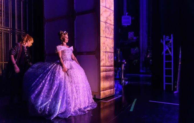 Suzanne Shaw - Cinderella Behind-the-scenes - Photo Credit Simon Hadley