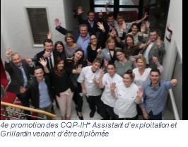 Promotion de formation La Boucherie 208