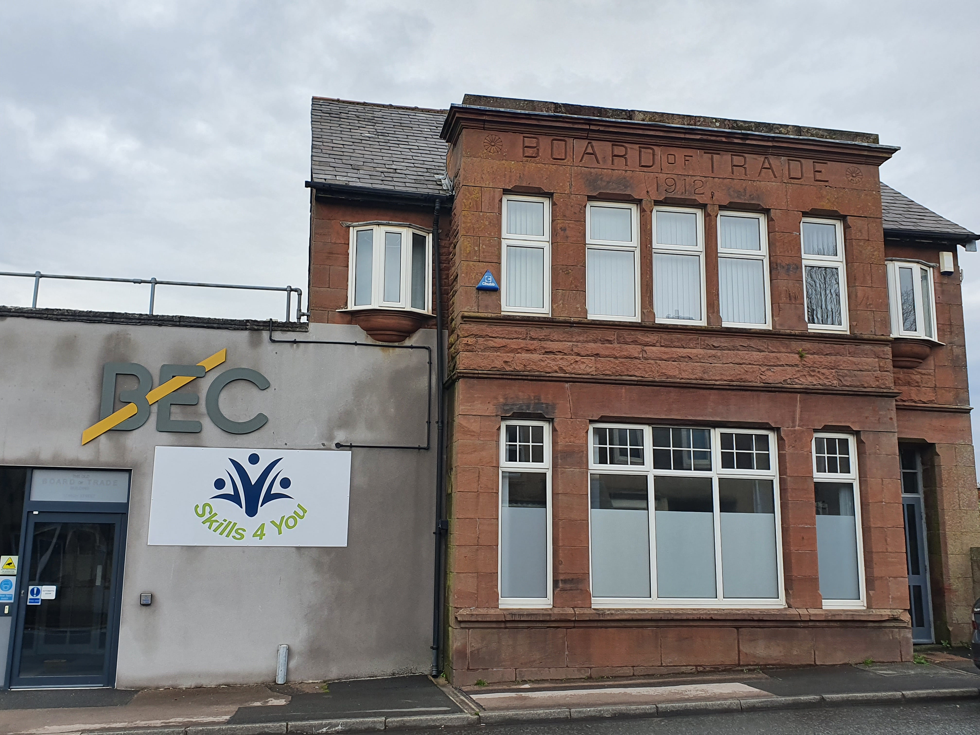 Home to Work's new premises in Cleator Moor, Cumbria.jpg