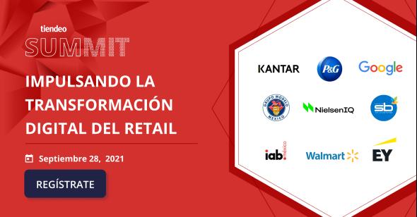 Tiendeo Summit 2021: donde el retail  y la transformación digital  son los protagonistas