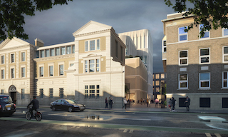CCCL work with ISG on 1stphase of £300m scheme for new Neurology Centre at UCL